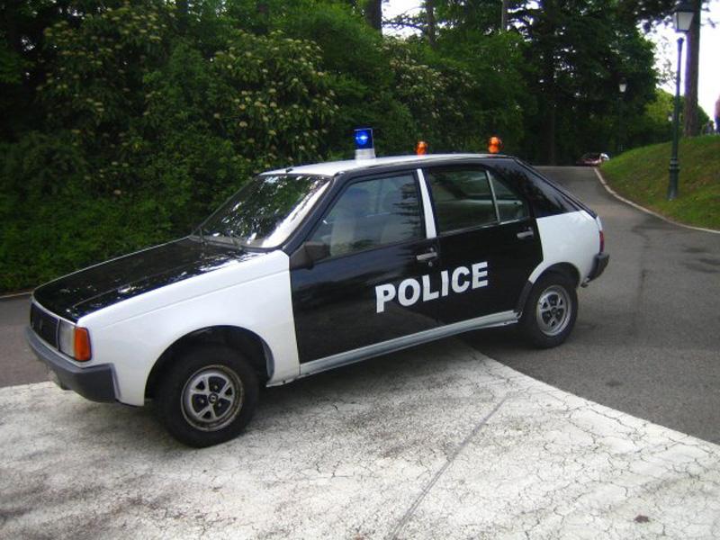 Renault 14 Police Nationale ancienne livrée